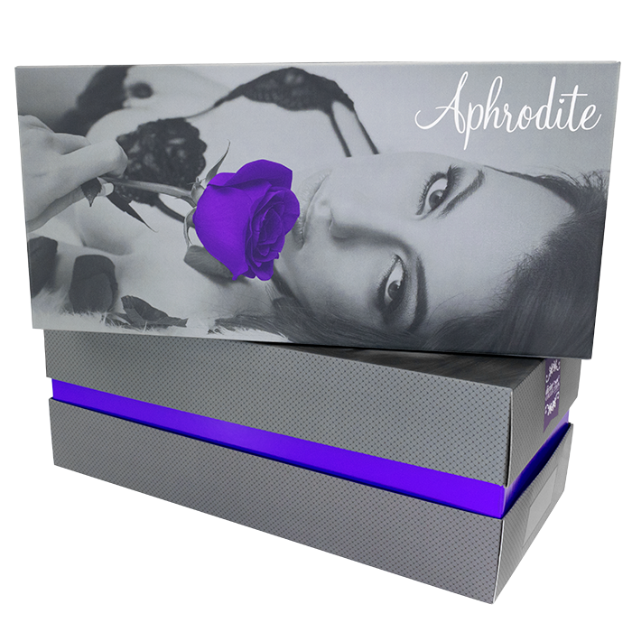 Aphrodite Packaging by Divine Collection